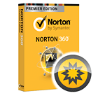 Norton 360 Premier Edition (1 Year Subscription) + PC Jump Start Service (Use Within 30 Days)